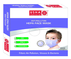 Anti-Pollution HEPA Face Mask for Kids